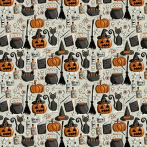 vintage halloween B
