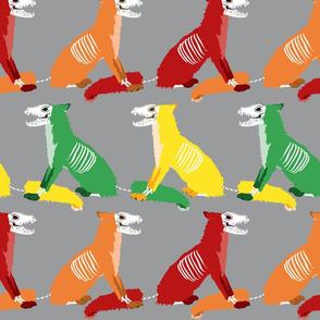 Chili Pepper Skull Foxes