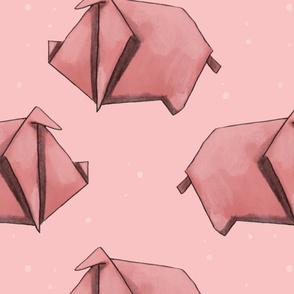 Piggy Origami