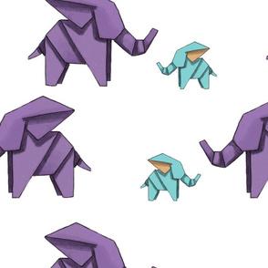 Elephant origami