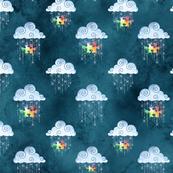Raining autism acceptance