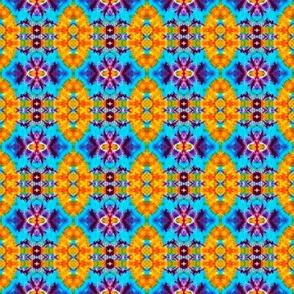 Mini Blue Flower Diamond Blocks