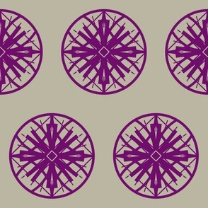 purple / taupe 2