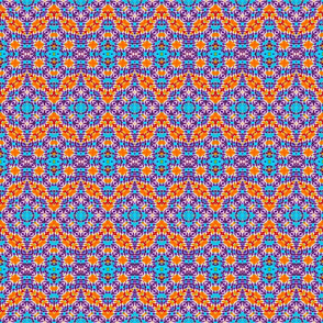 Moroccan Mosaic Stripes