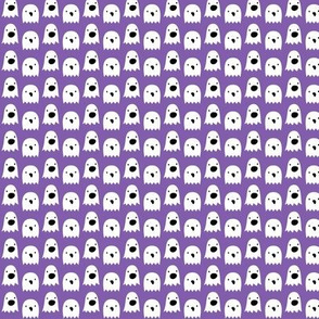 tiny ghosts on purple » halloween