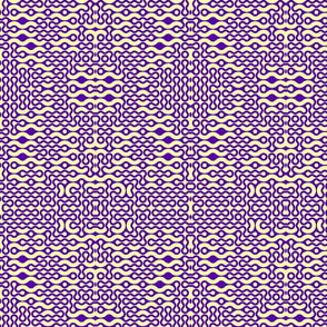 Digital purple and yellow