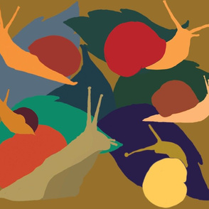 fall snails