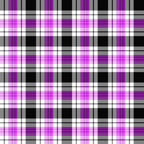 Purple Tartan Plaid | Purple & Black | Renee Davis