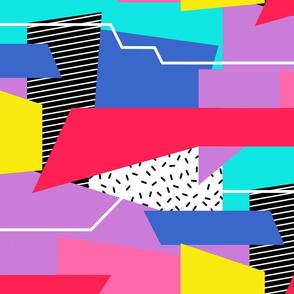Retro Color Block