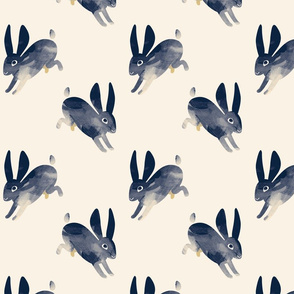 Shibori Rabbit small by Mount Vic and Me