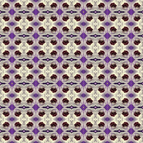 blood roses in ice purple kaleidoscope small size