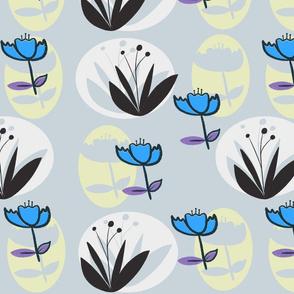 botanical dreaming (blue)