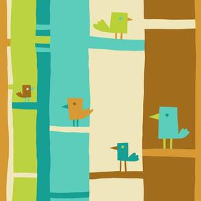 Tree Top Color Block