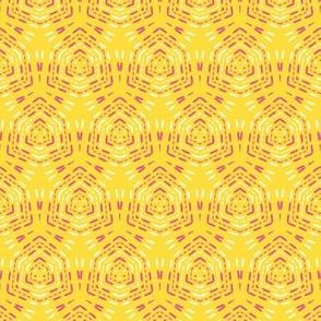 Geometric retro diamond stitch seamless pattern.