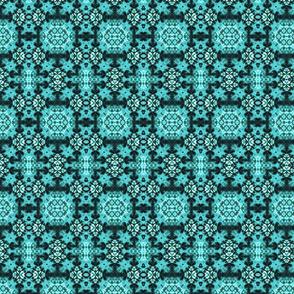 Blue Paisley Blocks