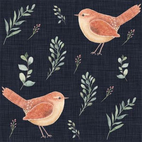 bird pattern large