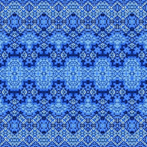 Cool Blue Aztec Nights