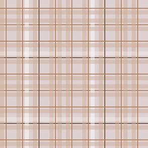 Indian summer - pink tartan