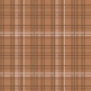 Indian summer - orange tartan
