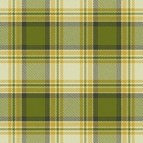 Custom Olive Green and mustard yellow plaid