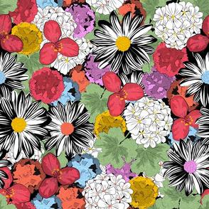Floral Carpet (Color Blocks coordinate)
