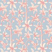Hyacinths Floral Botanical Soft Colours UnBlink Studio Jackie Tahara