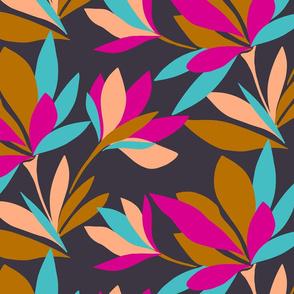 Colour Block Floral