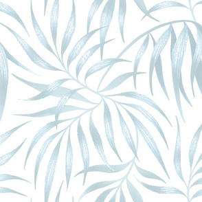 Palm Leaf - White