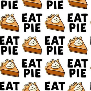Eat Pie - Pumpkin Pie - black - LAD19
