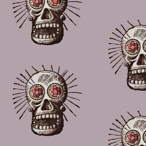 Skull with Jewel eyes