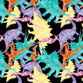 Prehistoric Parade Print