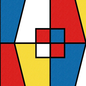 Mondrian - Color Block_HBrick