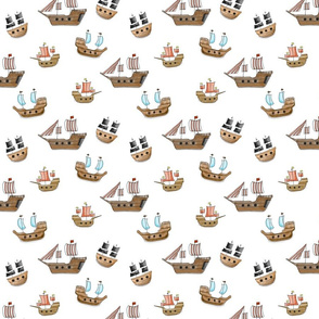 Pirate Ships A-hoy