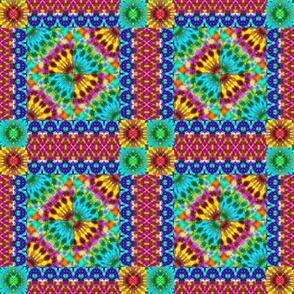 Hippie Rainbow Quilt