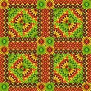 Jungle Style Hippie Quilt