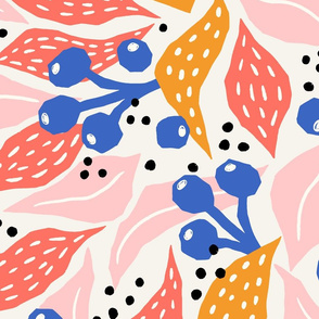 autumn berries/jumbo scale
