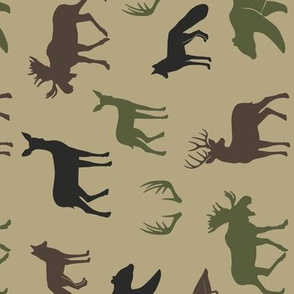 woodland animals C2(T) (90) C19BS