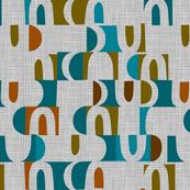 scandi color block shapes