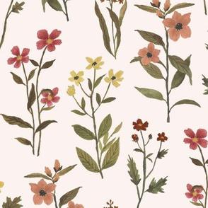 Big Fall Wildflower pink