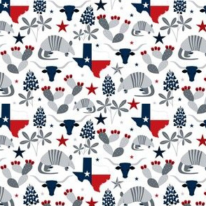 Symbols of Texas (Extra Small Recolor)