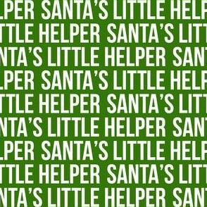 Santa's Little Helper - Green - LAD19