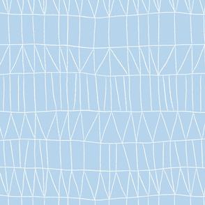 Grid - Blue - Large