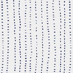 half dot lines blue solid
