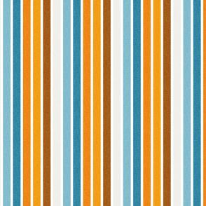 1960's_Vertical thin Stripes