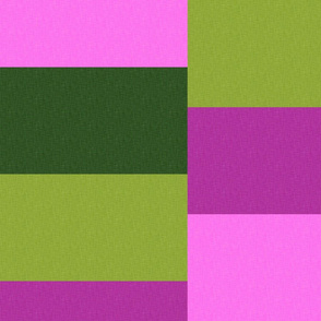 1960's_Color Block Lilac-Green