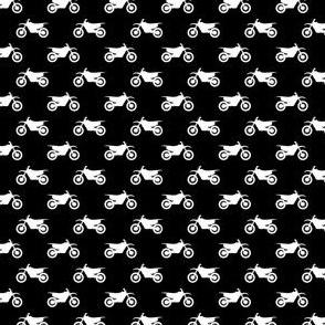 (micro scale) motocross bike (black) C19BS