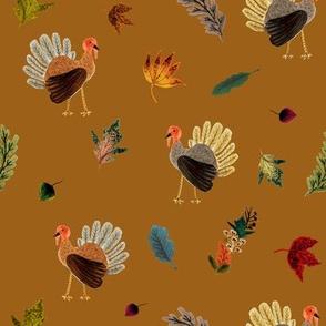 Fall Thanksgiving Turkeys // Desert