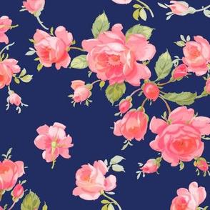 Saint Colette June Roses ink