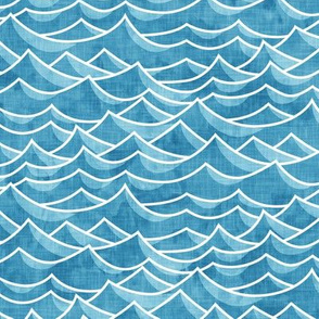 waves - blue - LAD19