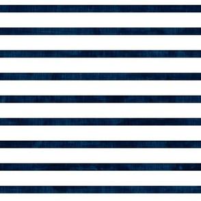 stripes - navy - nautical stripes - LAD19